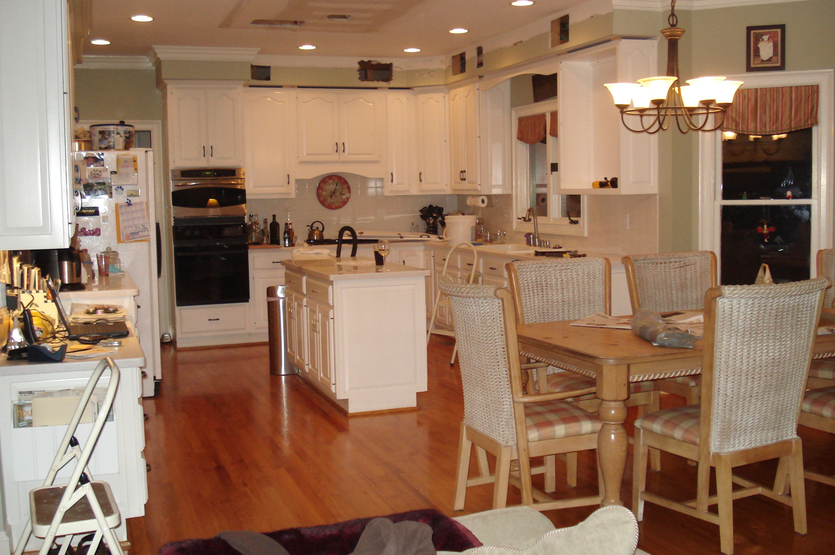 Genial Kitchen Remodel Before Picture Allen David Cabinetry (980) 722 9186